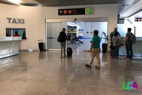 Los Cabos Airport Arrivals Taxi Timeshare