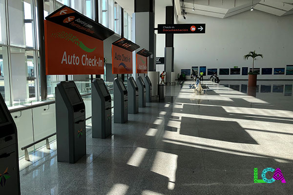 Los Cabos Airport Terminal 2 Check In Kiosk