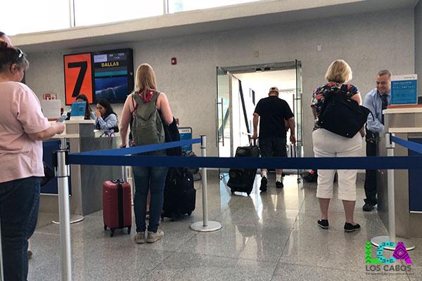 Los Cabos Airport Departure Gate