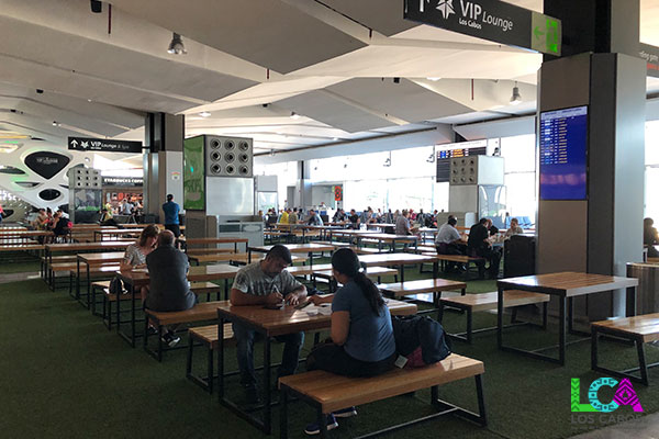 Los Cabos Airport Terminal 2 Departure Food Court Seating