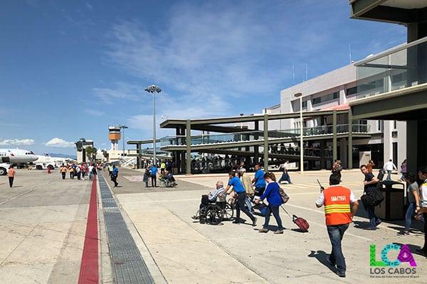 Los Cabos Airport Departure Tarmac
