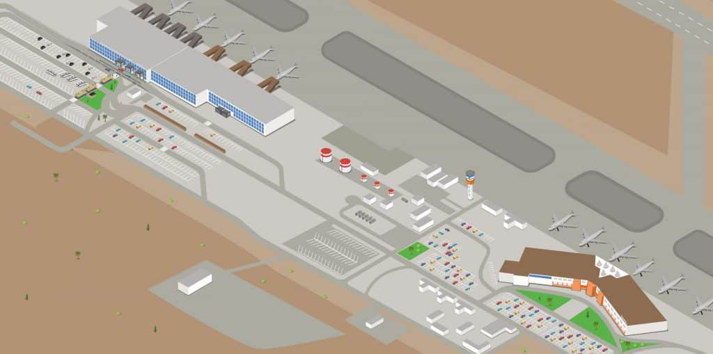 Cabo Airport Maps Sjd International Airport Maps