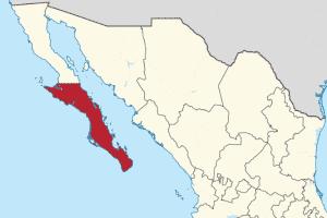 Baja California SUR Map