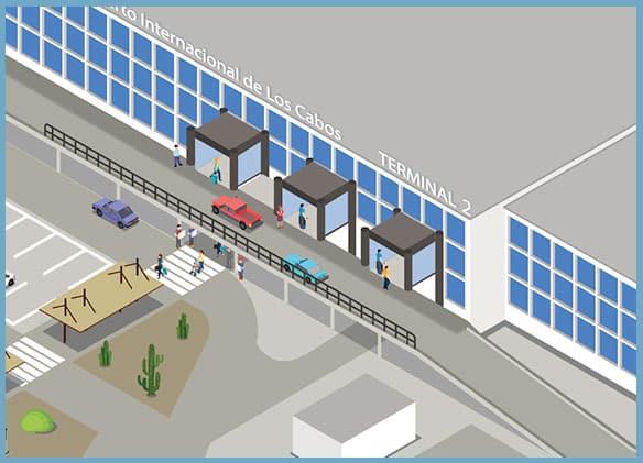 SJD Los Cabos Airport Terminal 2 Drop-Off