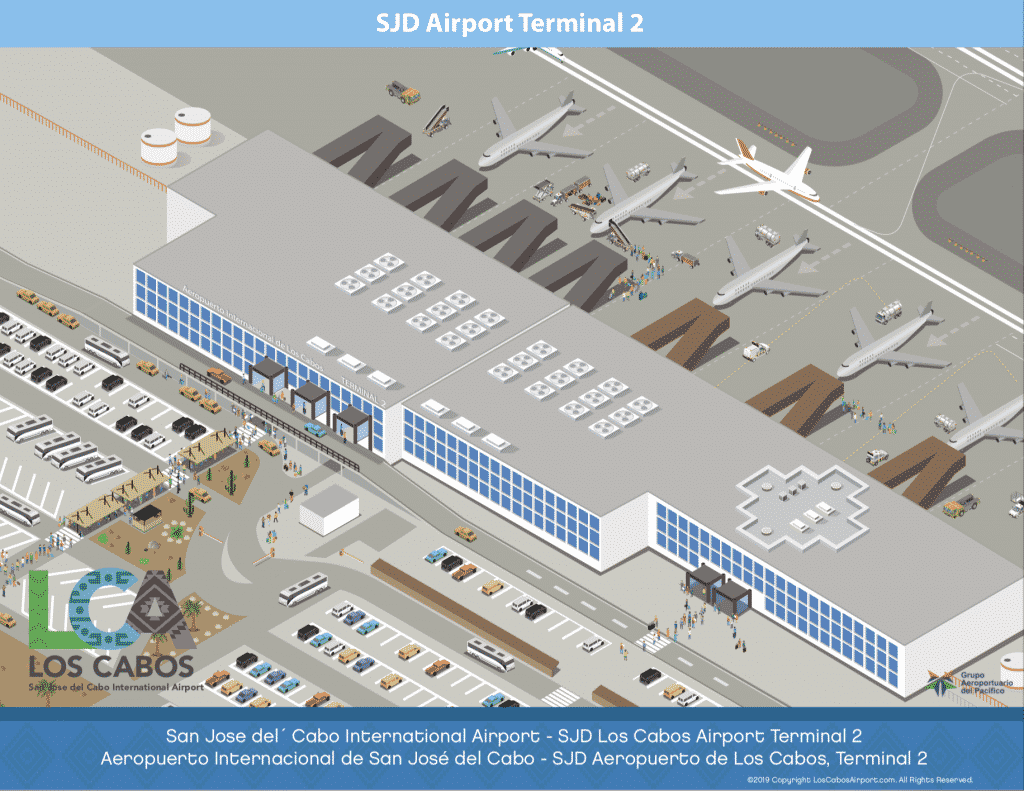 Cabo Airport Maps | SJD International Airport Maps