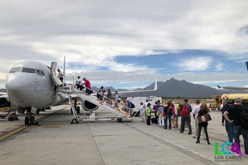 Los Cabos Airport Departure Plane Boarding