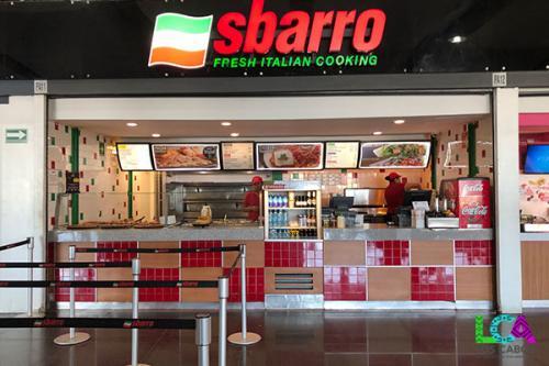 Los Cabos Airport Terminal 2 Sabarro Pizza