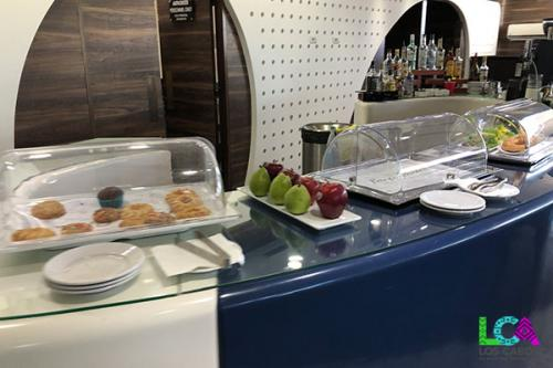 Los Cabos Airport Terminal 2 VIP Lounge Food Selections